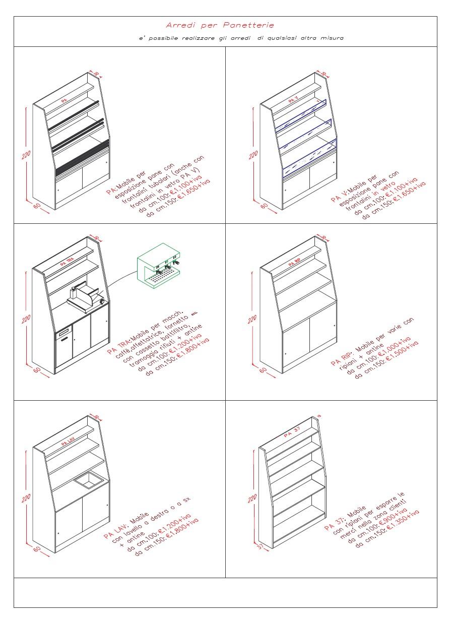 Italbar banconi bar banchi frigo vetrine refrigerate for Disegni mobili