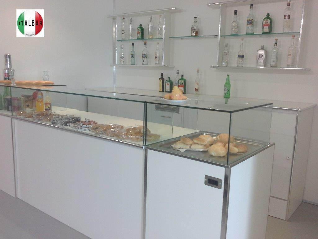 Vetrine E Alzate Moderne Design.Italbar Banconi Bar Banchi Frigo Vetrine Refrigerate Banco
