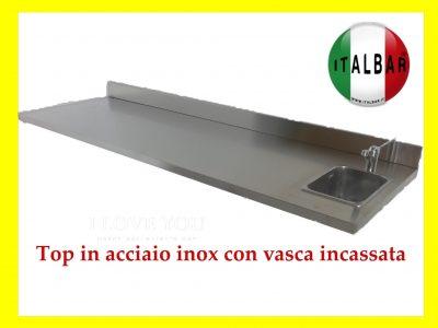 Top in Acciaio Inox