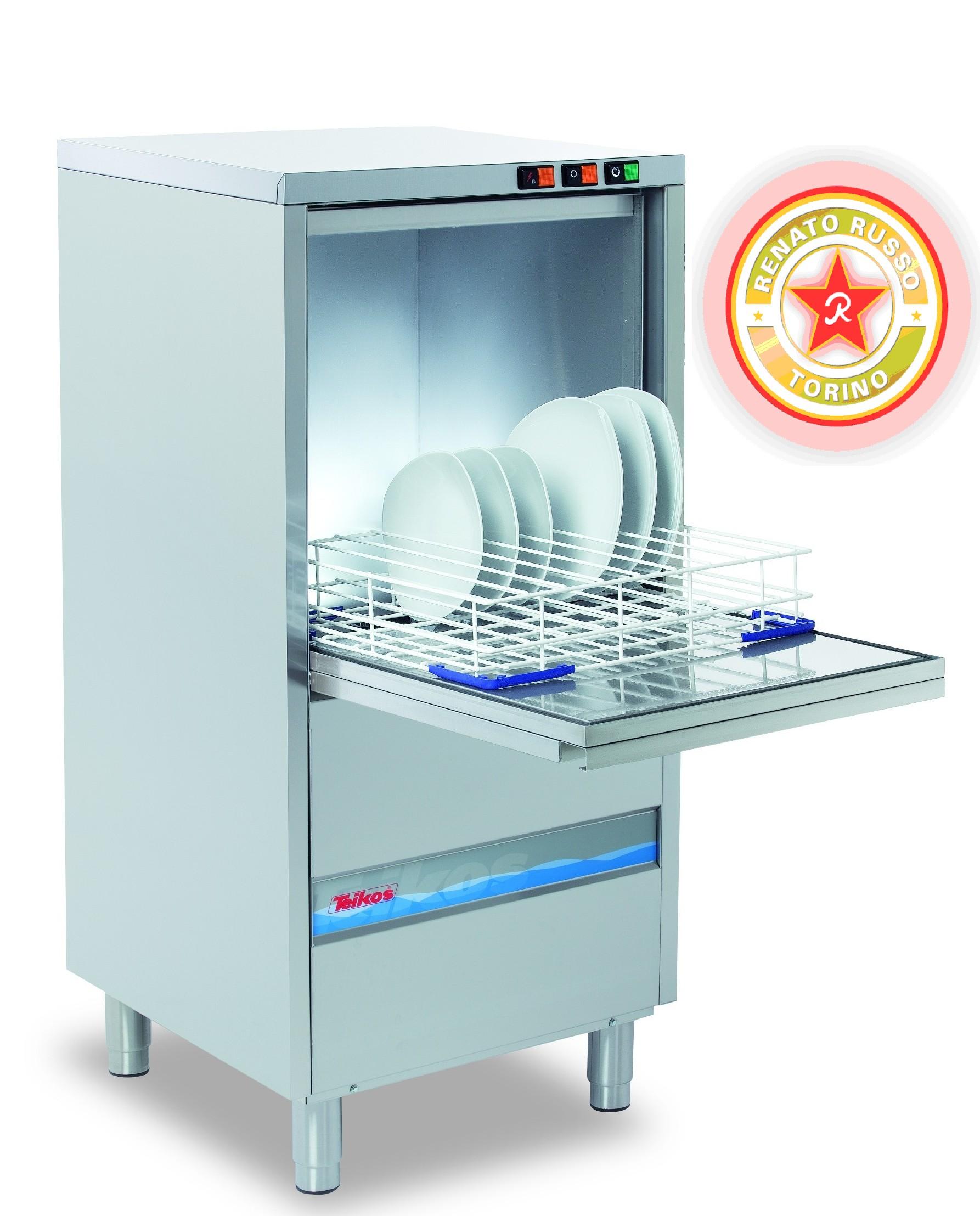 lavastoviglie professionale cm.60x60xh130. Volt.220