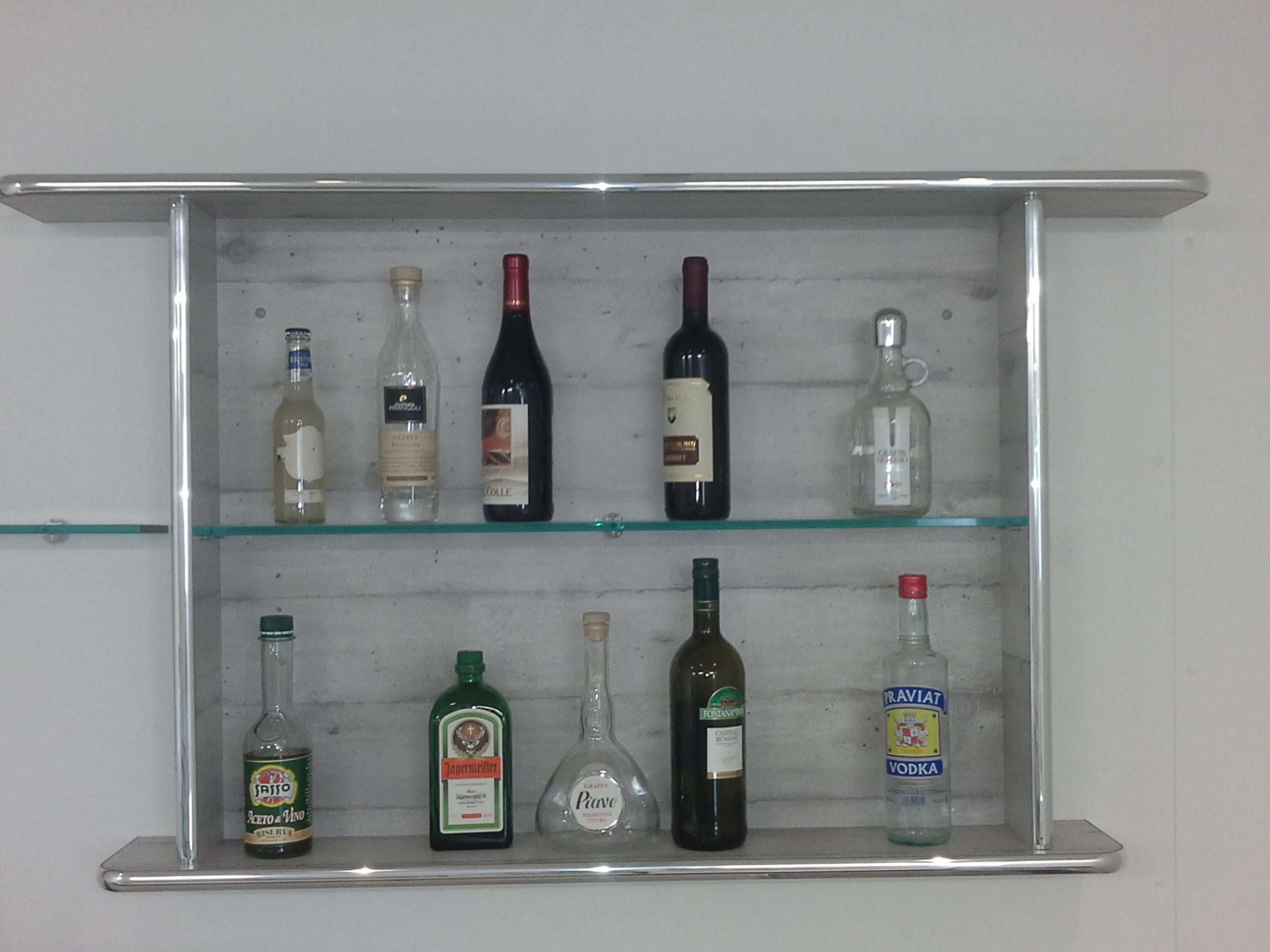 espositore per bottiglie bar, novità.