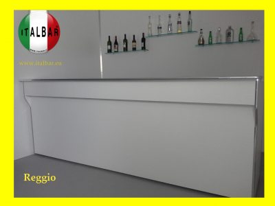 Banco bar Reggio cm. 300 PREZZO SOLO DEL BANCONE BAR: €.2.300+iva